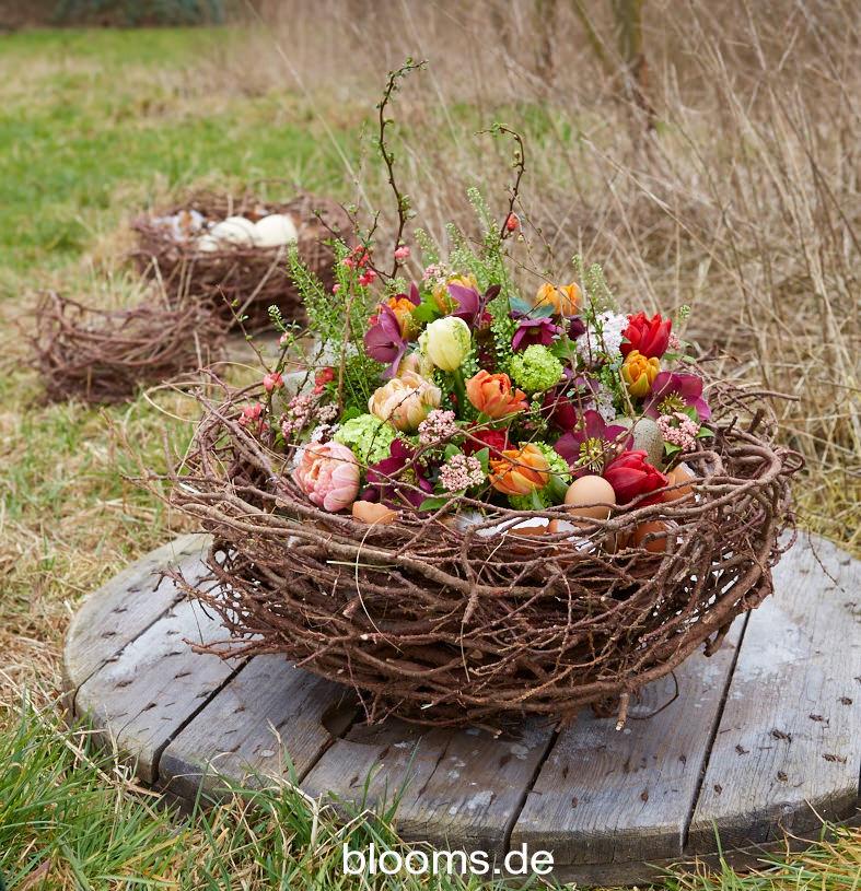 Floral Design Easter Nest from Radko Ivanov Chapov