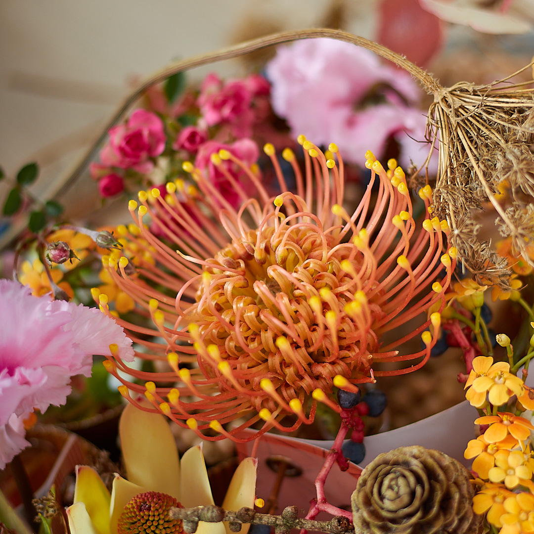 Modern Autumn Table Decoration from Radko Ivanov Chapov