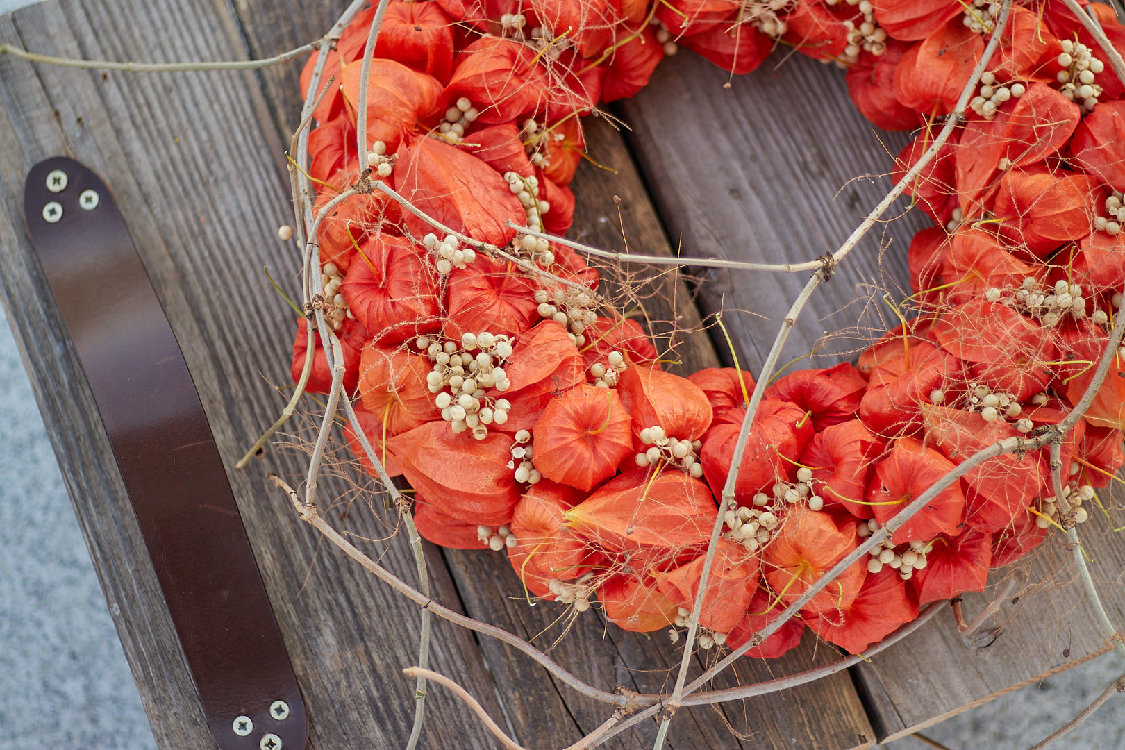 Physalis wreath from Radko Ivanov Chapov