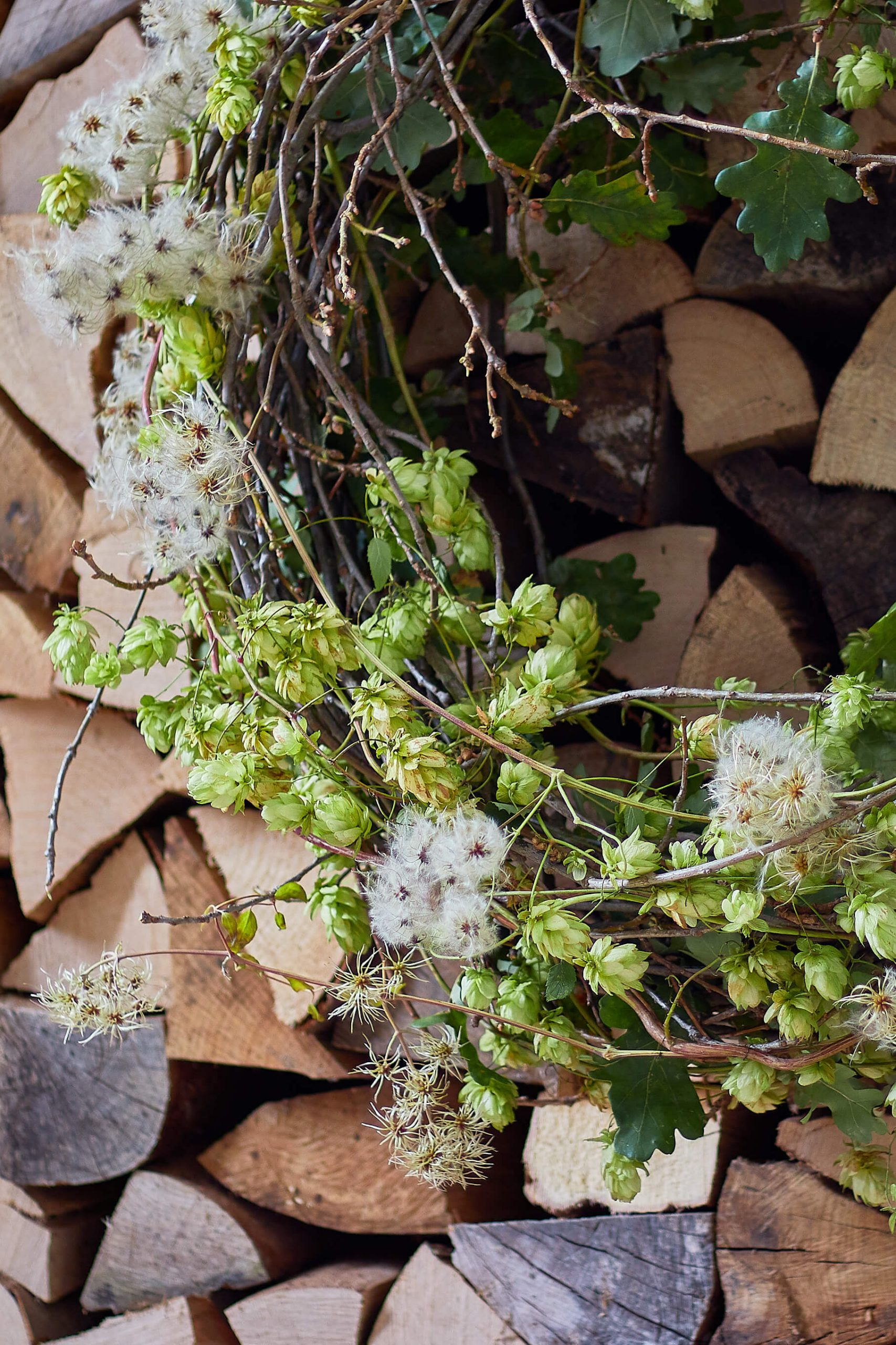 Wild and natural wreath from Radko Ivanov Chapov